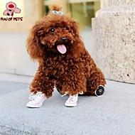 Недорогие Бижутерия и аксессуары для собак-Кошка Собака Ботинки и сапоги Косплей Свадьба Желтый Красный Синий Розовый Для домашних животных