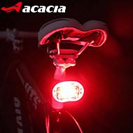 Svjetla za bicikle Stražnje svjetlo za bicikl sigurnosna svjetla - LED Biciklizam Jednostavno za nošenje Button baterije Lumena Baterija