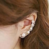 여성 귀는 패션 개인 의상 보석 펄 모조 진주 모조 큐빅 합금 보석류 제품
