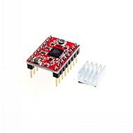 お買い得  Arduino 用アクセサリー-3Dプリンタのステッピングドライバa4988ステッピングモータドライバ