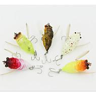 """voordelige Vissen en jagen-1 stk Vast Aas Vliegen Zwengel Drukknoop Kunstaas Zwengel Drukknoop Vliegen Vast Aas Diverse Kleuren g/Ons mm/1-5/8"""" duim,Hard kunststof"""