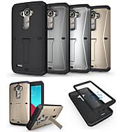 Mert LG tok Ütésálló / Állvánnyal Case Teljes védelem Case Páncél Kemény Fém LG LG G4