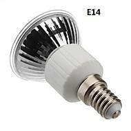 E14 / E27 4w 60x3528smd 210-240lm 3000-3500k lämpimän valkoisen valon led spot lamppu (85-265v)