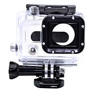 glatte Rahmen 保護ケース ねじ 防水ハウジング ケース 取付方法 防水 ために アクションカメラ Gopro 3 Gopro 3/2/1