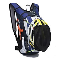 18 L バックパッキング用バックパック ハイキング用デイパック サイクリングバックパック 釣り 登山 レジャースポーツ サイクリング/バイク キャンピング&ハイキング 旅行 防水 防雨 ラップトップ用バックパック テリレン Outdoor LOCAL LION