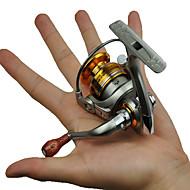 お買い得  釣り用アクセサリー-リール スピニングリール 5.2:1 ギア比+5 ボールベアリング 手の向き 交換可能 海釣り / 一般的な釣り / 流し釣り / 船釣り - DF-1500