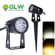 abordables Focos LED-9w mini LED de luz de inundación del jardín al aire libre de los bulbos de lámpara camino césped paisaje patio al contado