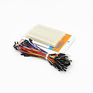 billige Arduino tilbehør-400-hullers mini brød bord test bord m / 60 ~ 65 kabler