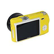 dengpin weichem Silikon Rüstung Haut Gummi Kameradeckel Fall Tasche für Samsung NX500 (verschiedene Farben)