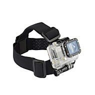 저렴한 -헤드 스트랩 가방 마운트 에 대한 액션 카메라 Gopro 5 Gopro 4 Gopro 3 Gopro 3+ Gopro 2 자동 영화 및 음악 암벽등반 오토바이 스키 자전거 나일론