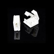5 pezzi 2-pin connettore solderless per 10mm 5050 singolo colore impermeabilizza le luci di striscia principali