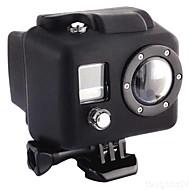tanie Akcesoria do GoPro-gładka Rama etui Wygodny Dla Action Camera Gopro 2 Gopro 1 Silikonowy