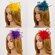 abordables Tocados-Horquillas para el pelo / Fascinators (Tela de Encaje) - Boda / Fiesta
