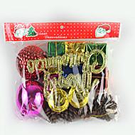 árbol de navidad pedante, una gran bolsa de regalo y una pequeña bolsa de regalo