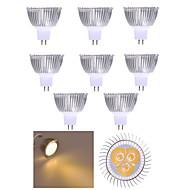 10個のmr16はスポットライトmr16を導いた3高出力350lm暖かい白い冷たい白い装飾dc12v