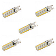 E14 G9 G4 E12 E17 E11 BA15D LED Corn Lights T 152 SMD 3014 1200 lm Warm White Natural White 2800-3200/6000-6500 K Dimmable AC 220-240 AC 5pcs