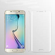 Недорогие Чехлы и кейсы для Galaxy S-Защитная плёнка для экрана для Samsung Galaxy S6 edge plus TPU 1 ед. Защитная пленка для экрана HD