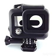 tanie Akcesoria do GoPro-gładka Rama etui Wygodny Dla Action Camera Gopro 3 Silikonowy