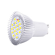 4w gu10 led spotlight par38 16 smd 5630 400-450lm warm wit koud wit 3000k / 6500k decoratief ac 85-265v