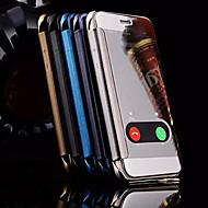 Назначение iPhone X iPhone 8 iPhone 6 iPhone 6 Plus Чехлы панели с окошком Зеркальная поверхность Чехол Кейс для Мультипликация Твердый