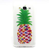 Voor Samsung Galaxy hoesje Patroon hoesje Achterkantje hoesje Fruit TPU Samsung J5