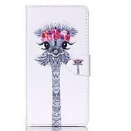 Недорогие Чехлы и кейсы для Galaxy Grand Prime-Кейс для Назначение SSamsung Galaxy Кейс для  Samsung Galaxy Бумажник для карт Кошелек со стендом Флип Чехол Животное Кожа PU для Grand