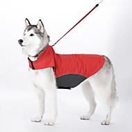 Koira Takit Liivi Koiran vaatteet Vedenkestävä Tuulenpitävä Tukeva Tumman sininen Punainen Vaalean sininen Asu Lemmikit