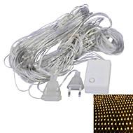 halpa LED-hehkulamput-JIAWEN® 1,5 M 96 Dip Led Lämmin valkoinen / Violetti Yhdistettävä 4 W Koristevalot AC220 V