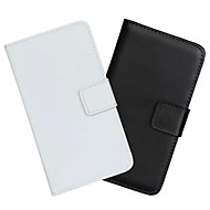 お買い得  Samsung 用 ケース/カバー-ケース 用途 Samsung Galaxy Samsung Galaxy Note ウォレット / カードホルダー / スタンド付き フルボディーケース ソリッド PUレザー のために Note Edge