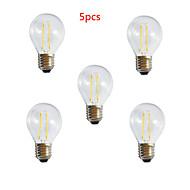 お買い得  -HRY 5個 3000/6500 lm E26/E27 LEDボール型電球 A60(A19) 2 LEDの ハイパワーLED 装飾用 温白色 クールホワイト 交流220から240 V