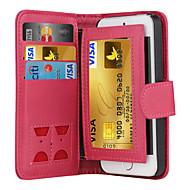 preiswerte -Hülle Für iPhone 5 Apple iPhone X iPhone X iPhone 8 iPhone 5 Hülle Kreditkartenfächer Geldbeutel Flipbare Hülle Ganzkörper-Gehäuse