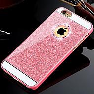 お買い得  -ケース 用途 iPhone 5 Apple iPhone 8 iPhone 8 Plus iPhone 5ケース ラインストーン バックカバー キラキラ仕上げ ハード PC のために iPhone 8 Plus iPhone 8 iPhone SE/5s iPhone 5