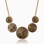 Pentru femei Coliere cu Pandativ / Coliere - European Argintiu, Bronz Coliere Bijuterii Pentru Petrecere, Zilnic, Casual
