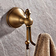 cheap Daily Deals-Robe Hook High Quality Antique Brass 1 pc - Hotel bath