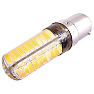 Χαμηλού Κόστους LED Φώτα με 2 pin-ywxlight® 7w ba15d οδήγησε φώτα bi-pin 80 smd 5730 500-700 lm ζεστό λευκό κρύο λευκό dimmable διακοσμητικό ac 110-130 v