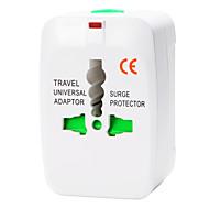 abordables -whirldy tout en un adaptateur international monde universel large Voyage adaptateur chargeur, blanc