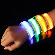 LED Running Armband Reflective Band Reflective Belt High Visibility Safety for Camping/Hiking/Caving Cycling/Bike Running