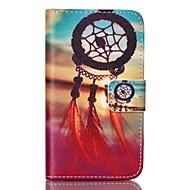 """Для Кейс для  Samsung Galaxy Кошелек / Бумажник для карт / со стендом / Флип Кейс для Чехол Кейс для Рисунок """"Ловец снов""""Искусственная"""
