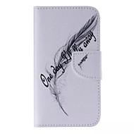 Для Кейс для  Samsung Galaxy Бумажник для карт / Кошелек / со стендом / Флип / С узором Кейс для Чехол Кейс для Перо Искусственная кожа