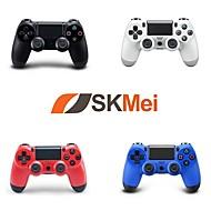 abordables -controlador inalámbrico de juegos bluetooth para sony ps4, controlador de juegos / juego recargable abs 1 unidad de PC