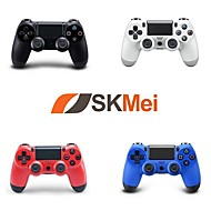 abordables Accesorios para PS4-Con Cable Control de Videojuego Para Sony PS4 ,  Empuñadura de Juego / Recargable Control de Videojuego ABS 1 pcs unidad