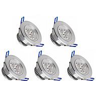 tanie Żarówki LED podtynkowe-5pcs 350lm Oświetlenie do zabudowy 3 Koraliki LED High Power LED Przysłonięcia Ciepła biel / Zimna biel