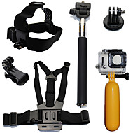 お買い得  スポーツカメラ & GoPro 用アクセサリー-アクセサリー キット 防水 / フローティング ために アクションカメラ ゴプロ6 / すべてのアクションカメラ / Gopro 5 潜水 / サーフィン / スキー プラスチック / 炭素繊維 - 6 pcs / Xiaomi Camera / Gopro 4