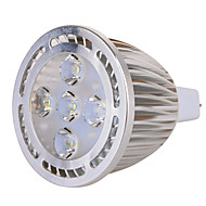 お買い得  LED スポットライト-GU5.3(MR16) LEDスポットライト MR16 5 LEDの SMD 装飾用 温白色 クールホワイト 630lm 2800-3200/6000-6500K AC 85-265 AC 12V