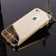 Недорогие Кейсы для iPhone 8 Plus-Кейс для Назначение iPhone 5 Apple iPhone 8 iPhone 8 Plus Кейс для iPhone 5 Покрытие Зеркальная поверхность Кейс на заднюю панель