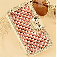 роскошный Bling кристалла алмаза кожа флип чехол для Samsung Galaxy A3 / A5 / A7 / A8 (ассорти цветов)