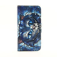 Blue Cat PU Leather Wallet Full Body Case for iPod Touch 5/6