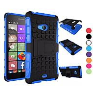 Na Etui Nokii Odporne na wstrząsy / Z podpórką Kılıf Etui na tył Kılıf Zbroja Twarde PC NokiaNokia Lumia 950 / Nokia Lumia 830 / Nokia