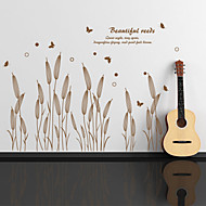 billige -Botanisk Veggklistremerker Fly vægklistermærker Dekorative Mur Klistermærker,Vinyl Hjem Dekor Veggoverføringsbilde For Vegg