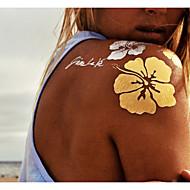 9 Tatoeagestickers Overige Non Toxic PatroonDames Heren Volwassene Flash Tattoo tijdelijke Tattoos